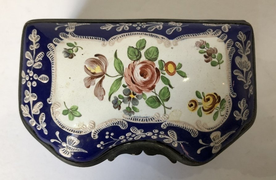 Four 18th/19th century enamel boxes - 6