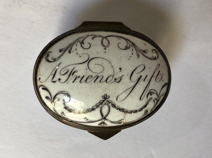 Four 18th/19th century enamel boxes - 9