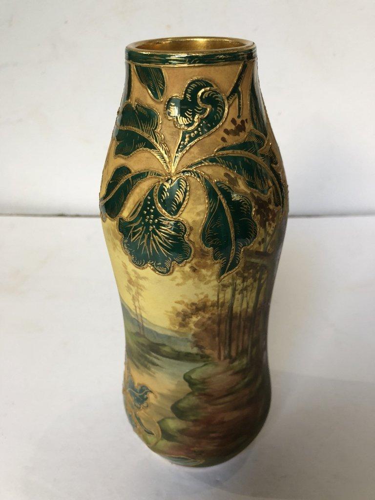 Porcelain tree vase by Royal Bonn, c1900