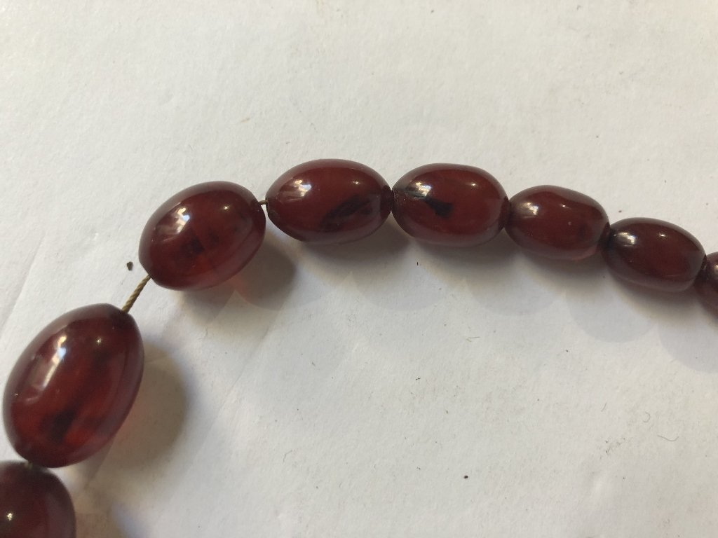 Cherry amber necklace - 4
