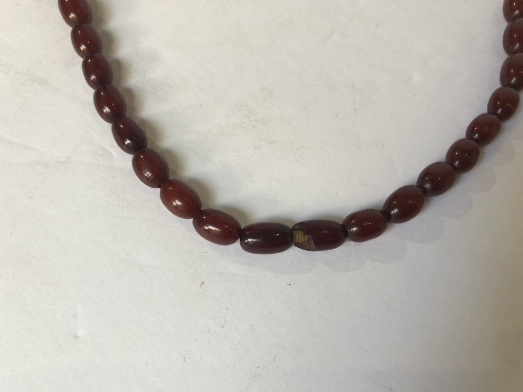 Cherry amber necklace - 6