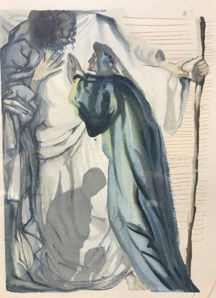 Salvador Dali lithograph, c.1960 - 2