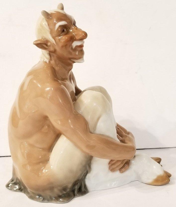 Meissen porc Satyr figurine, c.1920 - 2
