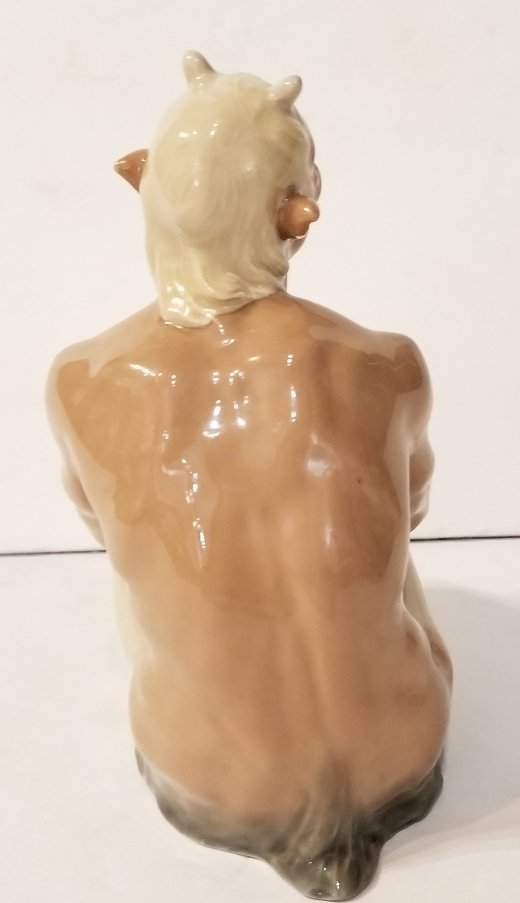 Meissen porc Satyr figurine, c.1920 - 5