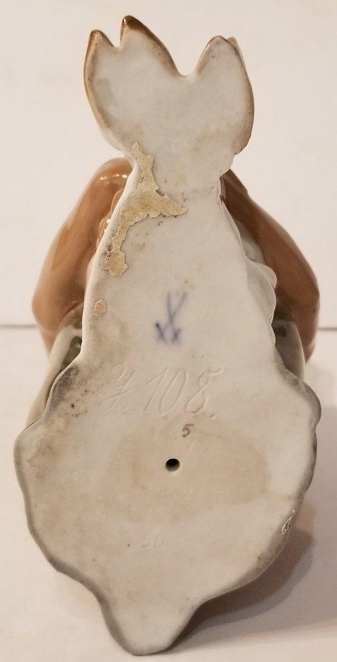 Meissen porc Satyr figurine, c.1920 - 6