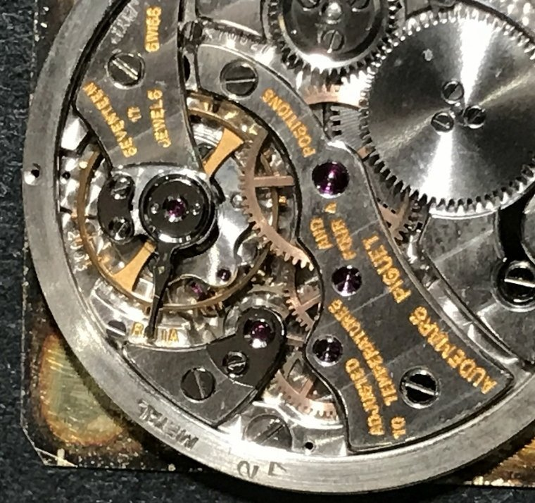 18k ladies Audemar Piguet wristwatch, c.1970 - 8
