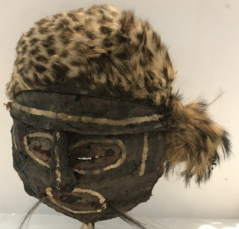 African mask-Tim Hunt Estate - 2