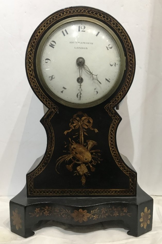 Mantle clock by Francis Shuttleworth London, c.1820