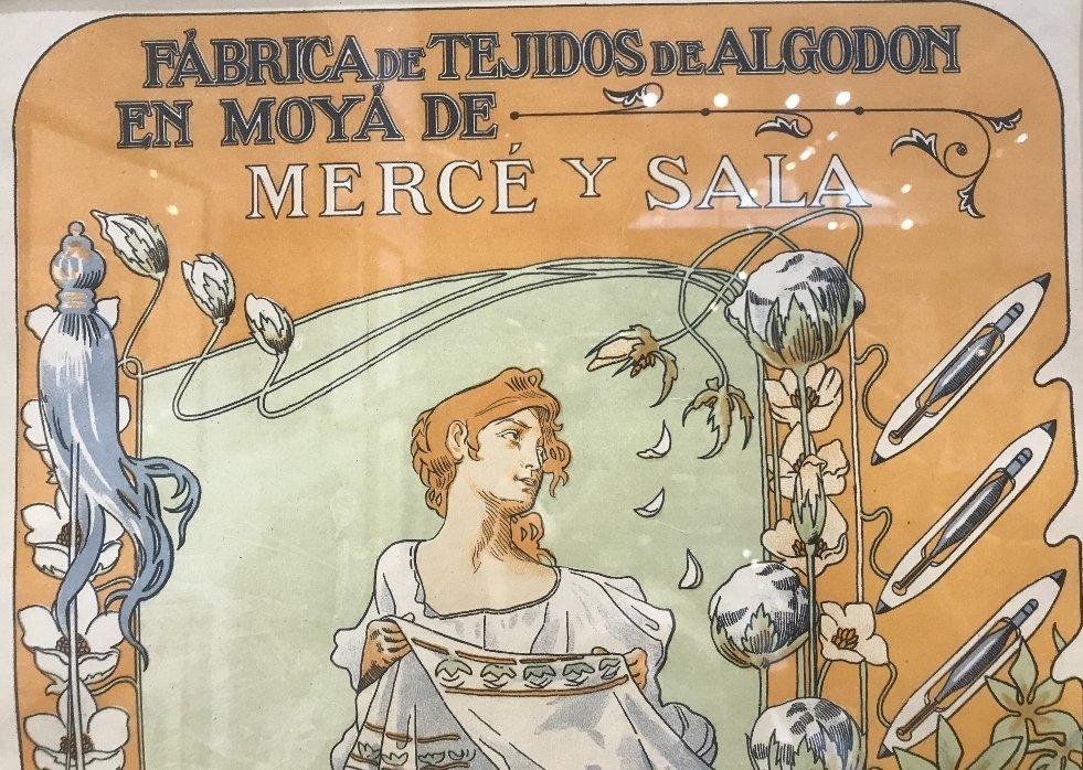 Orig poster by Bonaventura Casa de Valls, c.1900 - 4