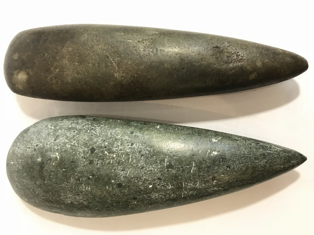 Two possibly Pre-Columbian taino celts - 2