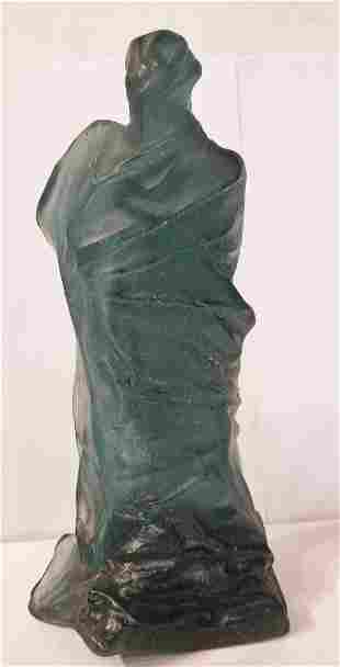 Pate de Verre Daum figurine by Oliver Brice