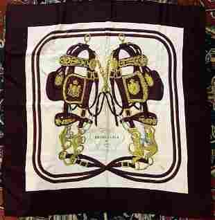Hermes scarf in box, Dr Horowitz estate