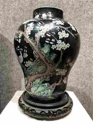Chinese porcelain vase, c.1930