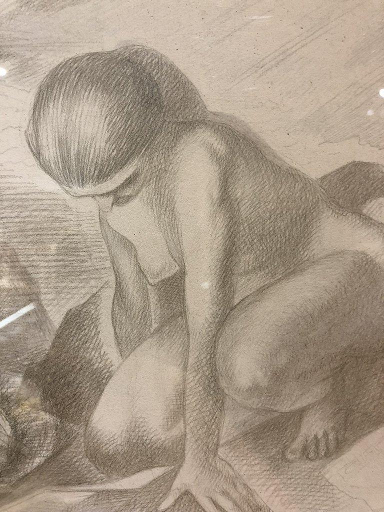 Xavier Gonzalez drawing of two women - 4