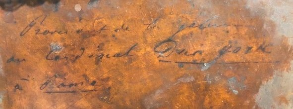 Old master on copper, Crux of St Peter, 18th/19thc - 7