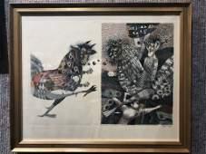 Russian print, Ambassador, Yuri Tchary
