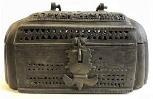 Betel nut box, Philippines, c.1900
