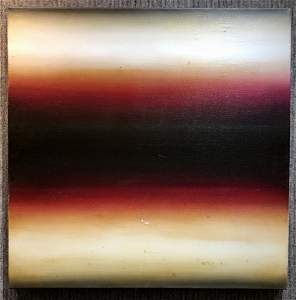 Abstract painting by Eric Freeman, 2003-inscribed