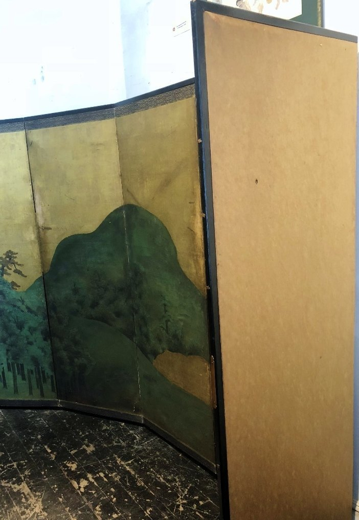 Large Japanese screen, 18th/19th century - 8
