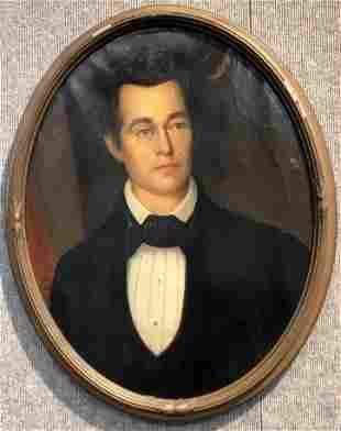 Portrait painting of a man, c.1880