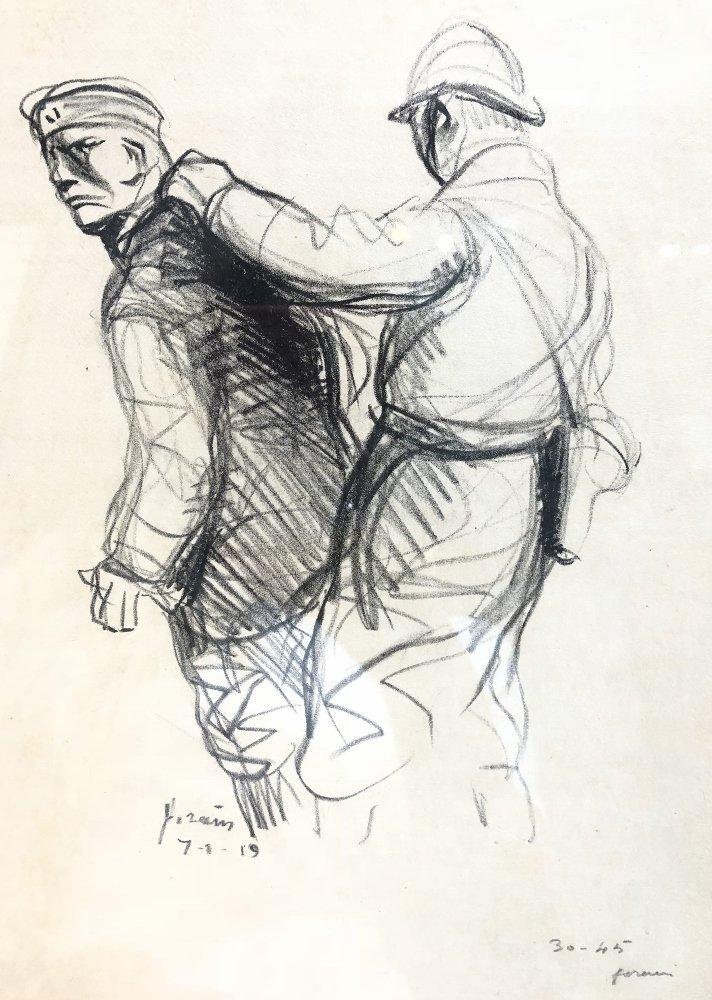 "Jean Louis Forain, ""Le Boch Expulse"" - 2"