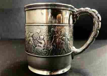 Tiffany sterling silver child's mug,