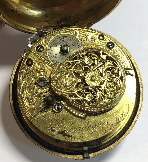 18th century watch by George Richardson, London - 2
