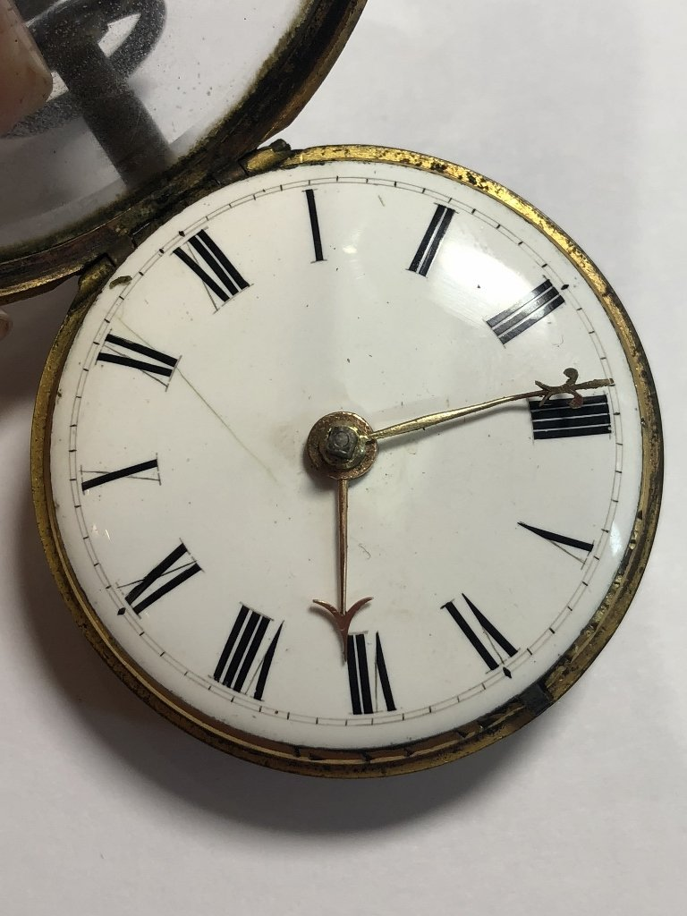 18th century watch by George Richardson, London - 6