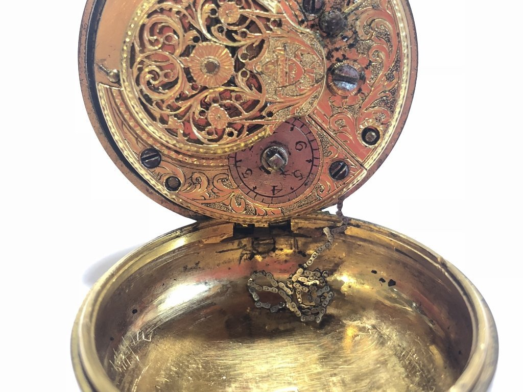 18th century watch by George Richardson, London - 8