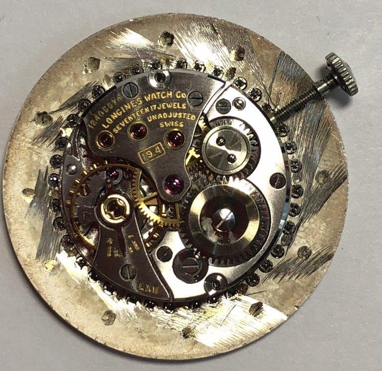 14k diamond Longines watch, c.1965 - 10