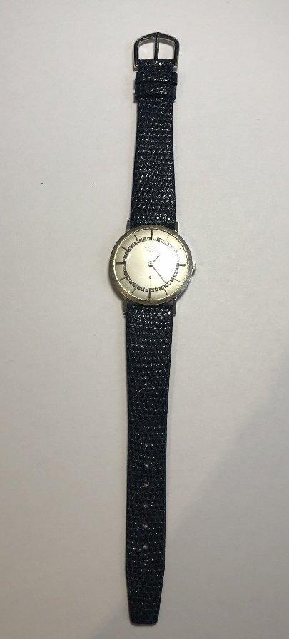 14k diamond Longines watch, c.1965 - 4