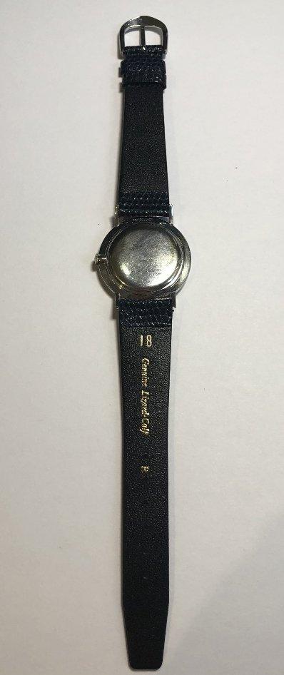 14k diamond Longines watch, c.1965 - 5