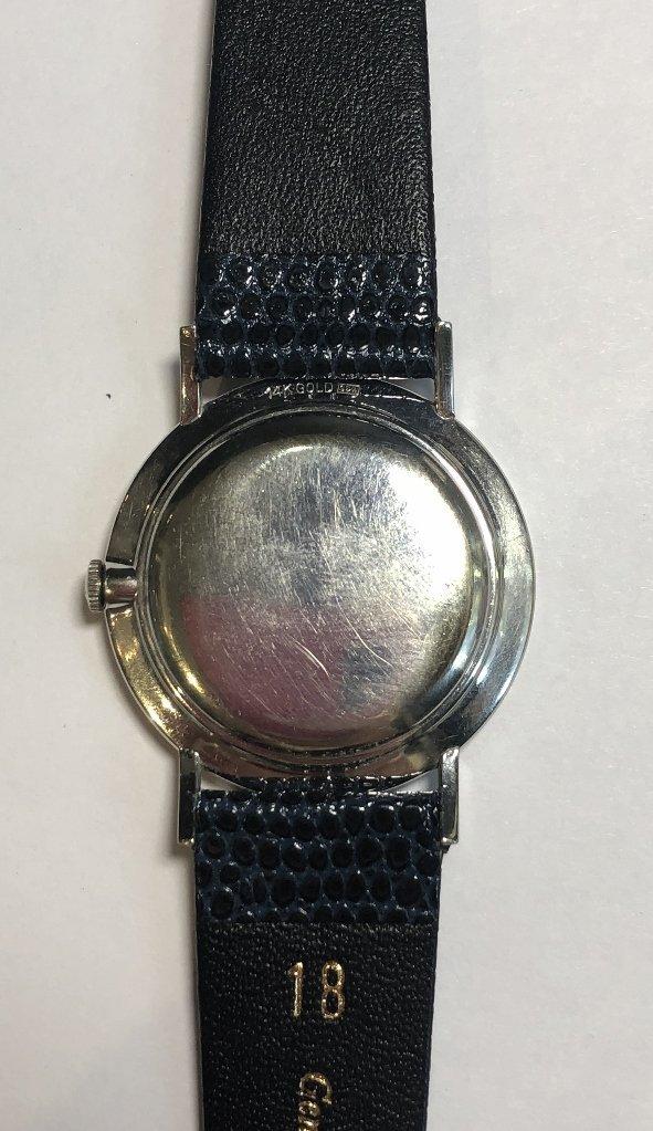 14k diamond Longines watch, c.1965 - 6