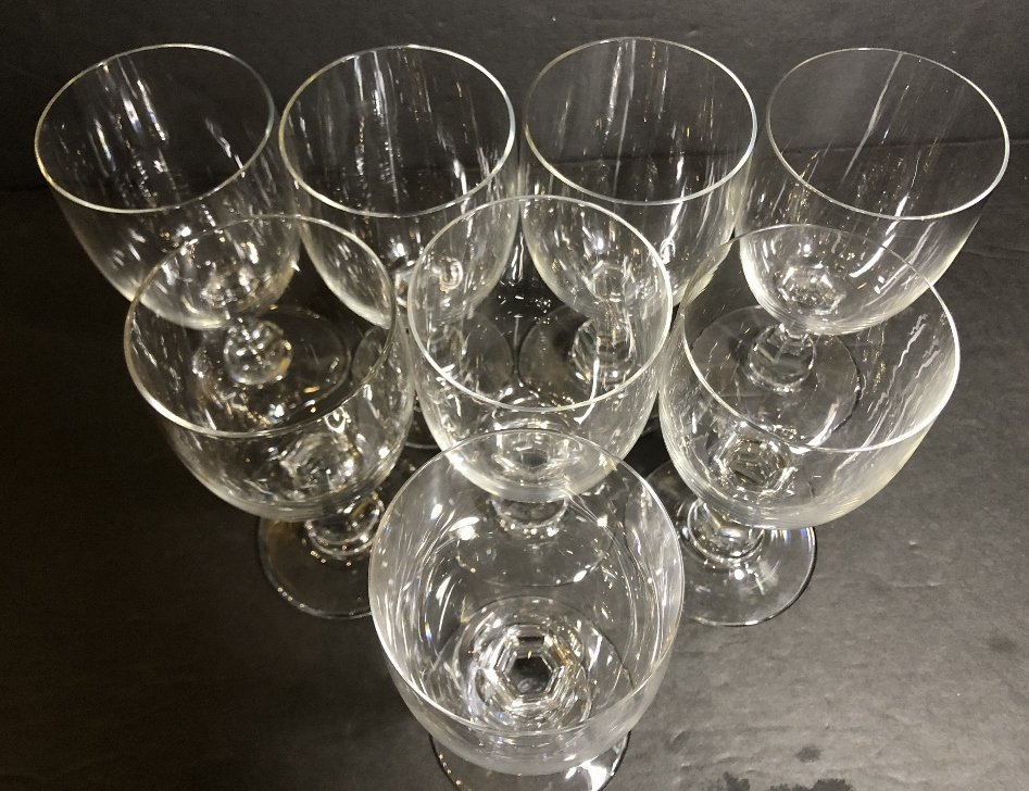 Eight Baccarat water glasses, circa 1985-2000 - 3