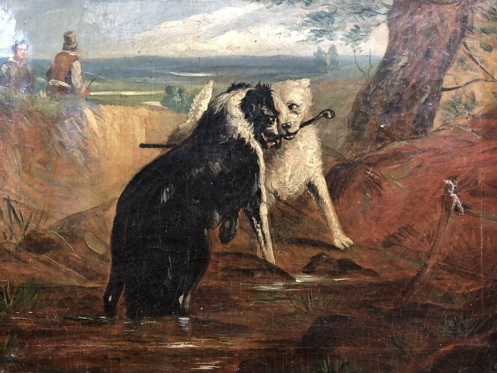 Painting of dogs by Samuel Henry Alken - 2