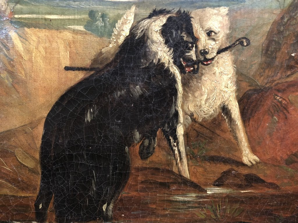 Painting of dogs by Samuel Henry Alken - 6