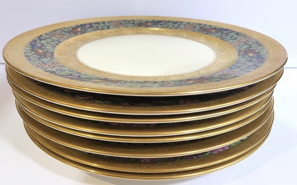 Set of eight Rosenthal Bavaria Ivory dinner plates - 2
