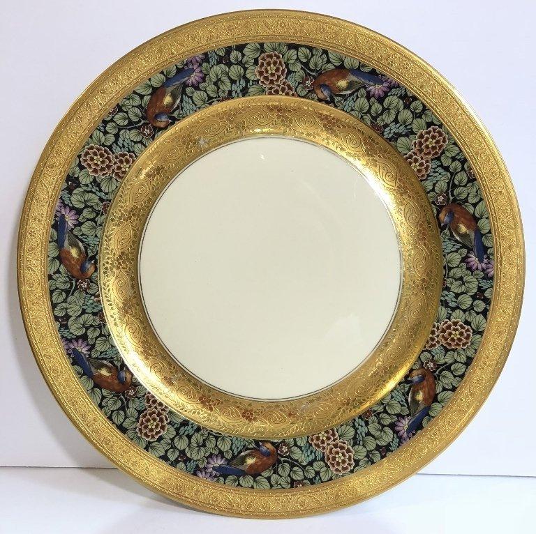 Set of eight Rosenthal Bavaria Ivory dinner plates - 3