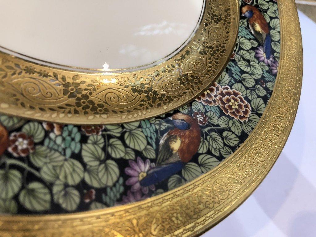 Set of eight Rosenthal Bavaria Ivory dinner plates - 4