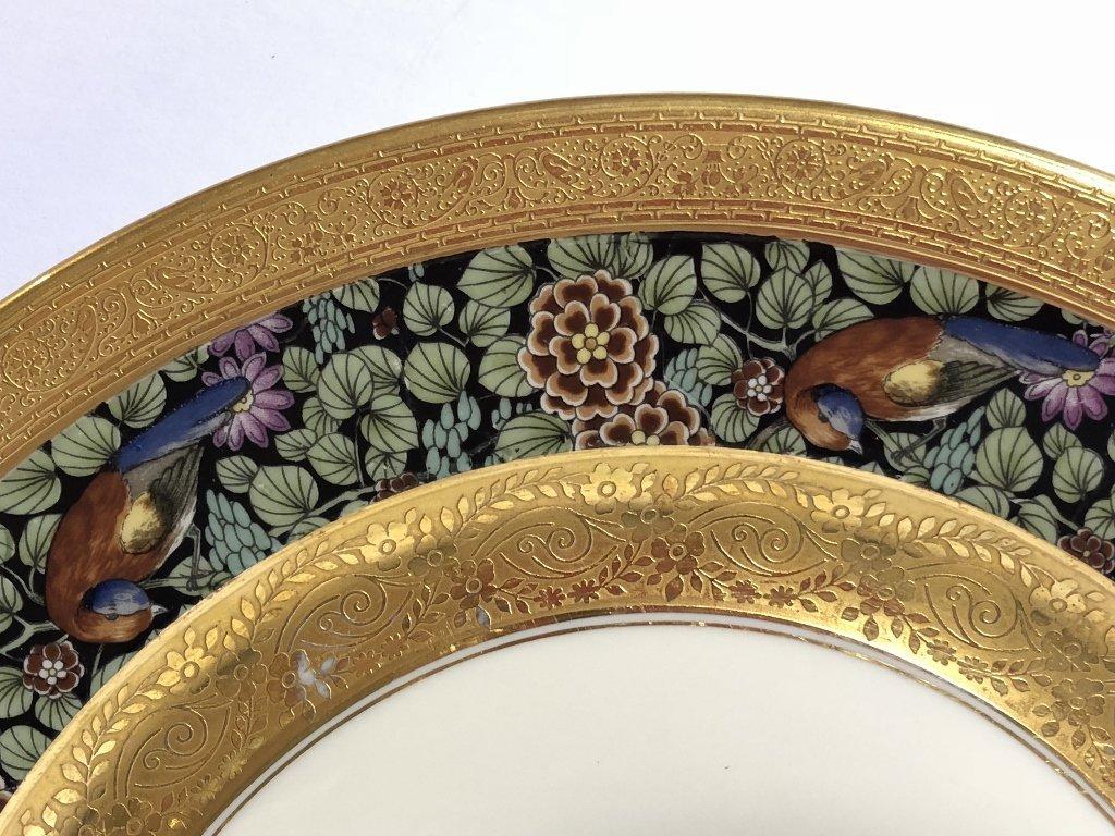 Set of eight Rosenthal Bavaria Ivory dinner plates - 5