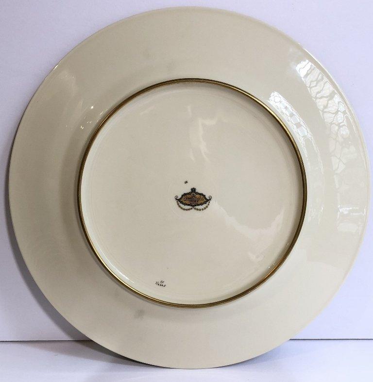 Set of eight Rosenthal Bavaria Ivory dinner plates - 6