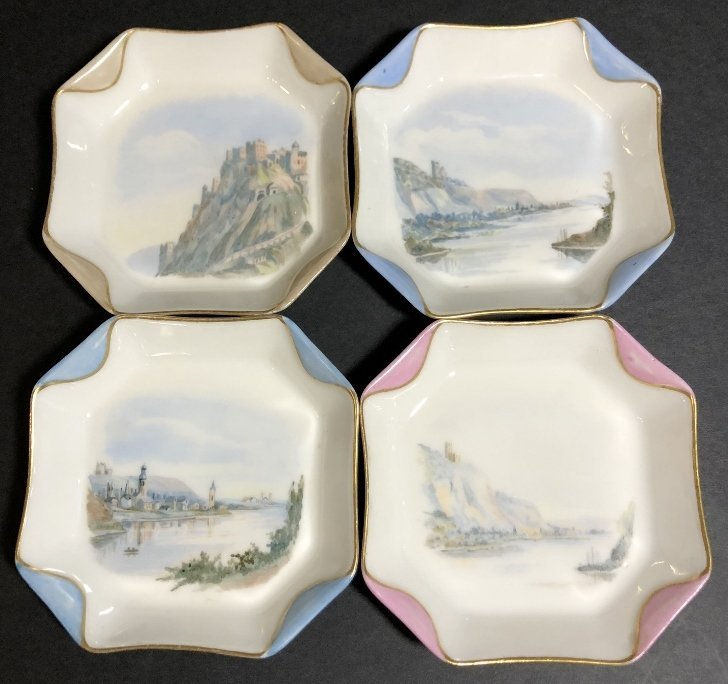 Eight cup and saucers by Haviland Limoges - 5