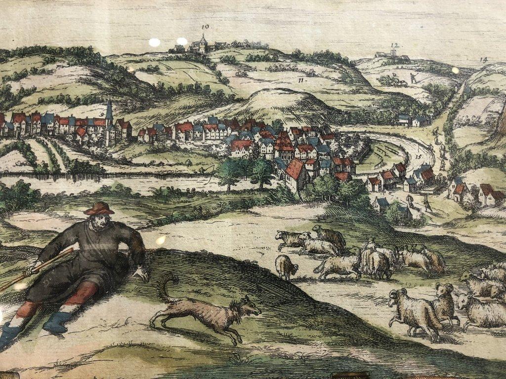 16th century map of Limburg by Georg Braun - 5