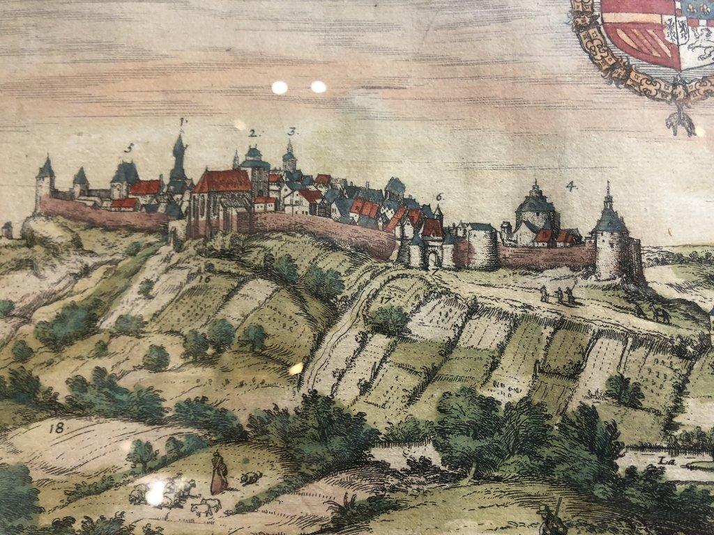 16th century map of Limburg by Georg Braun - 6