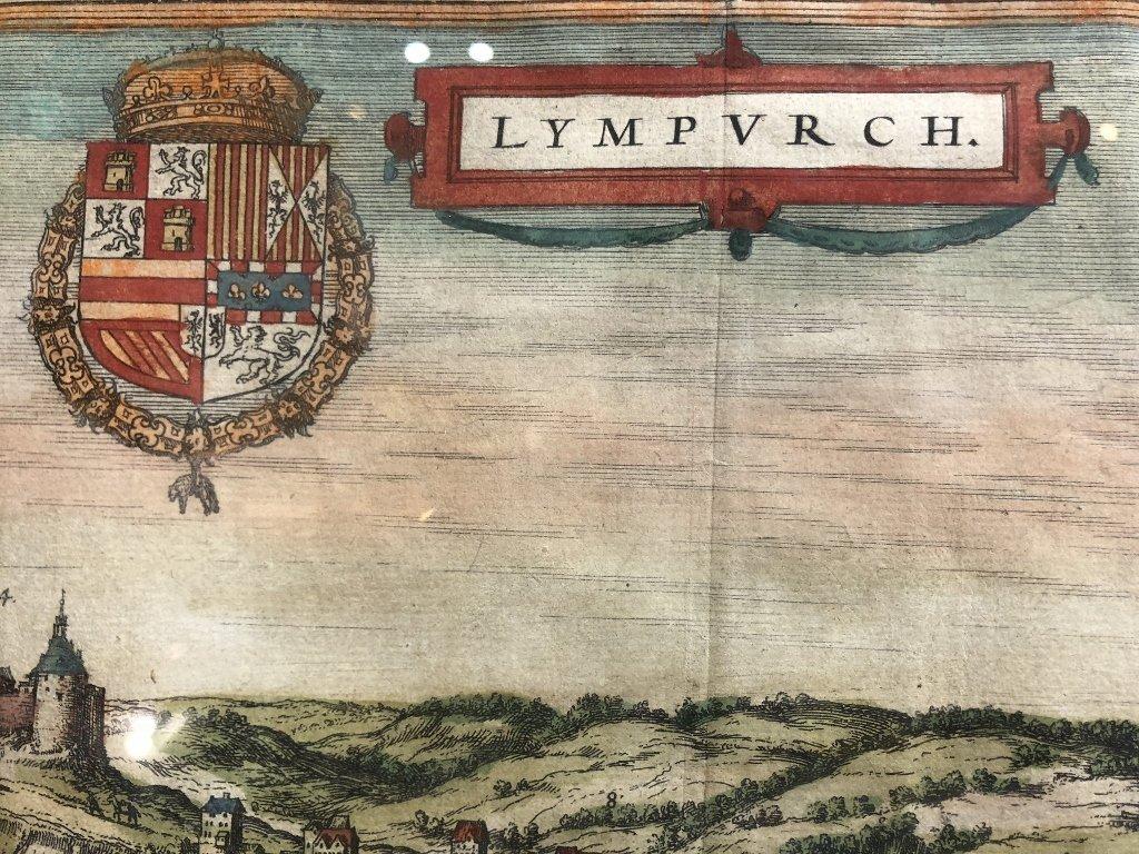 16th century map of Limburg by Georg Braun - 7
