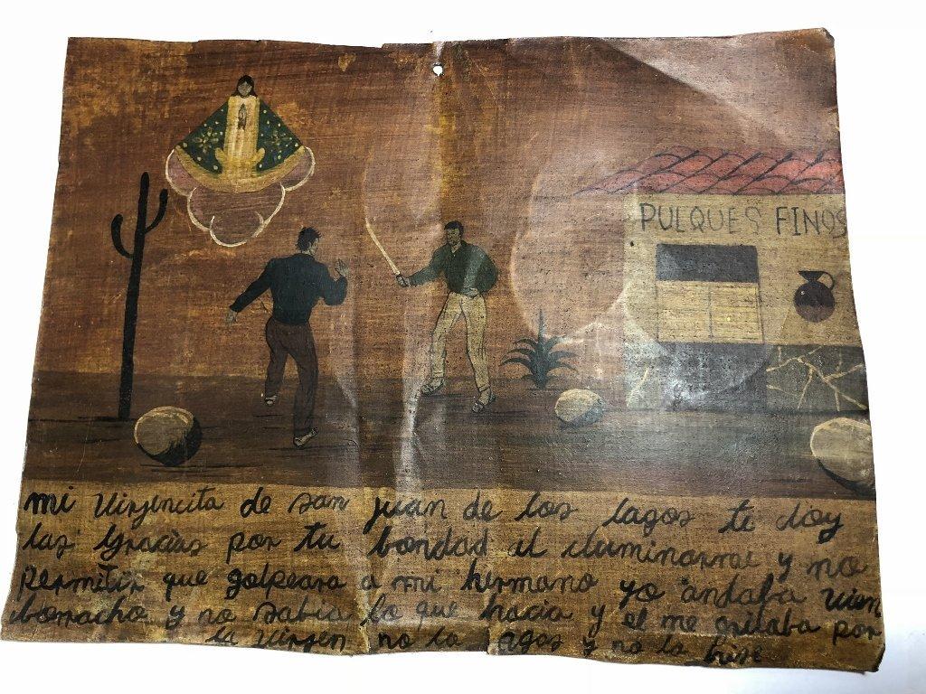 Mexican retablo