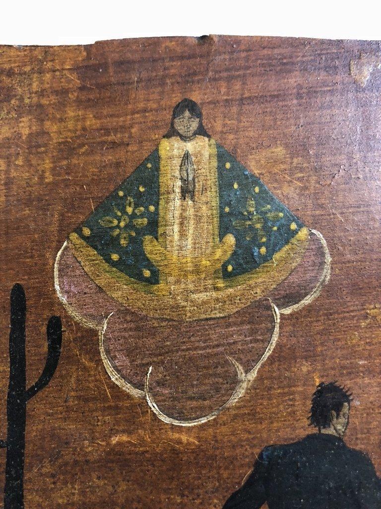 Mexican retablo - 4