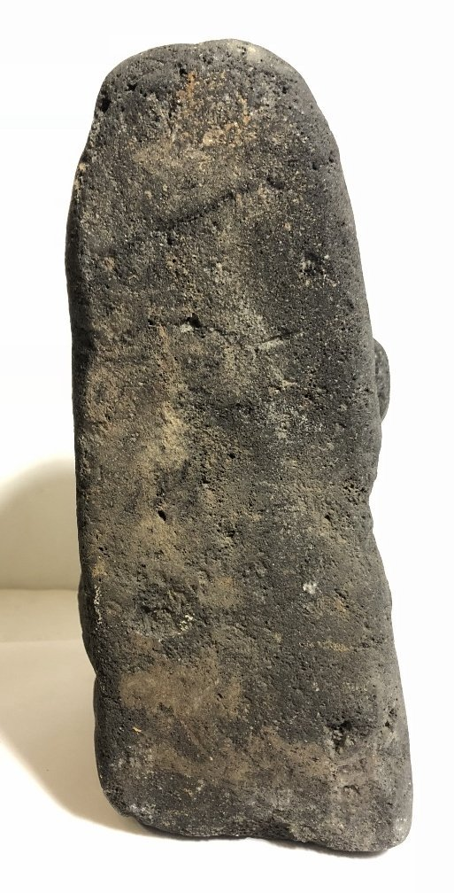 Carved volcanic rock figure, c.1950 - 5