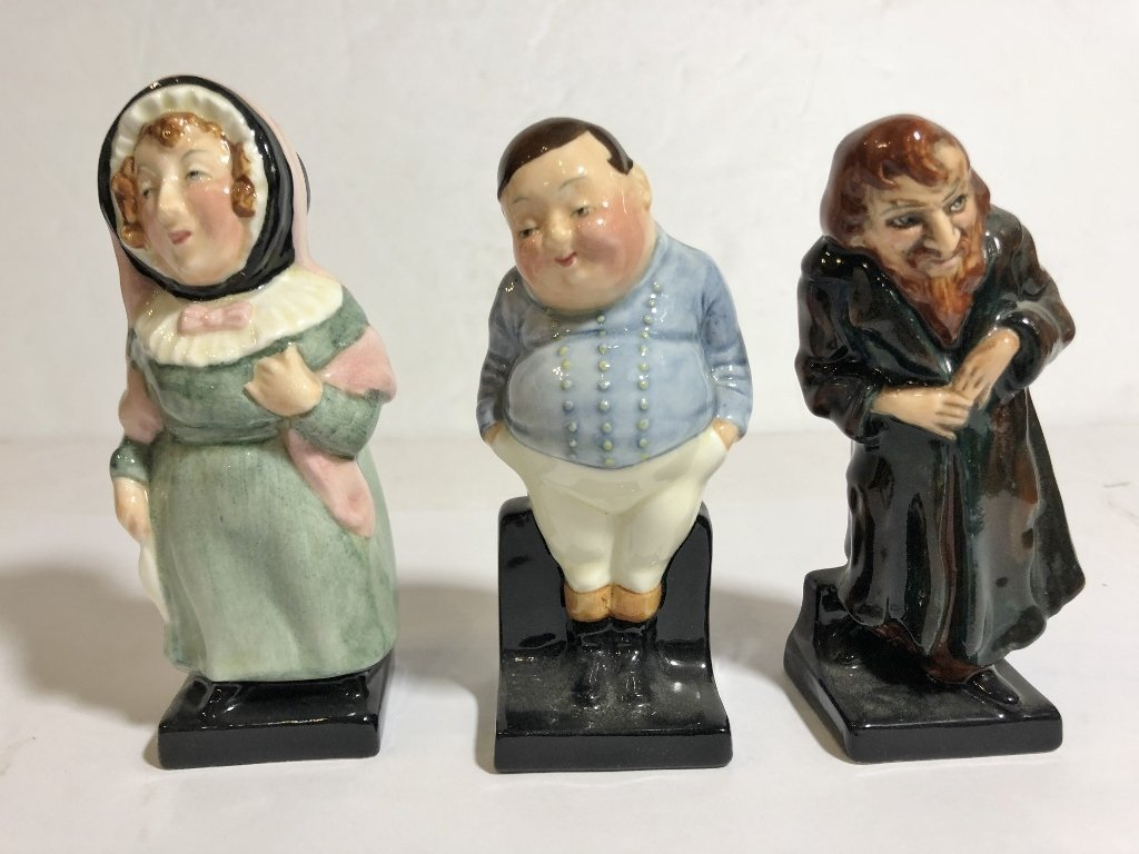 Eleven Royal Doulton figures - 2