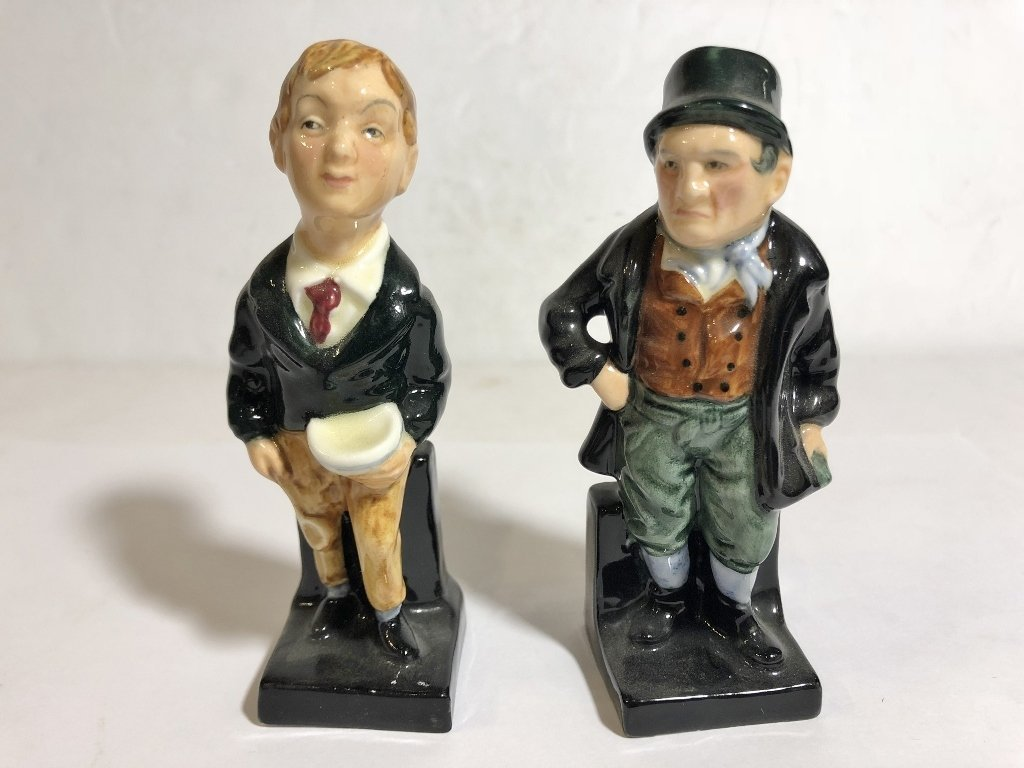 Eleven Royal Doulton figures - 4